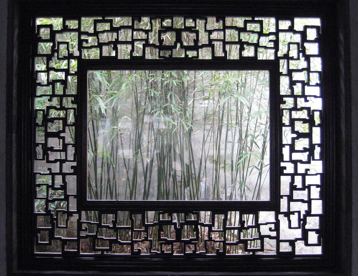 Garden Window (Suzhou, 2007)