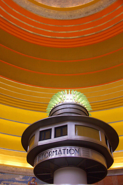 Cincinnati Union Terminal Information Desk (2006).