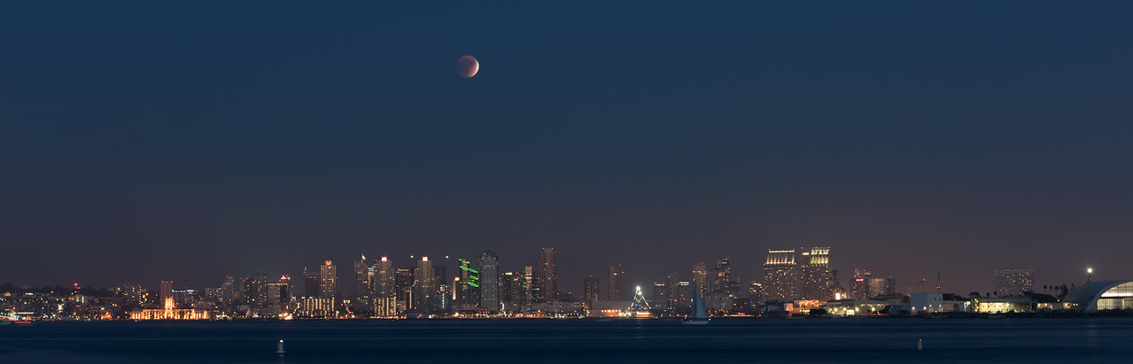 2015-09 Lunar Eclipse from Shelter Island