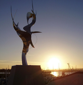 Sunset Sculpture