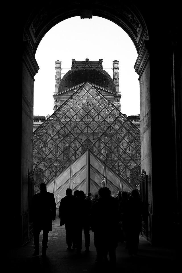 Louvre Pyramid<br /> Paris<br /> 2013