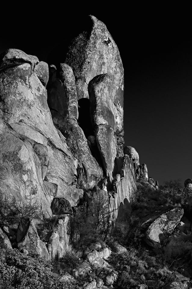 Grapevine Hills<br /> Big Bend National Park<br /> Texas<br /> 2010