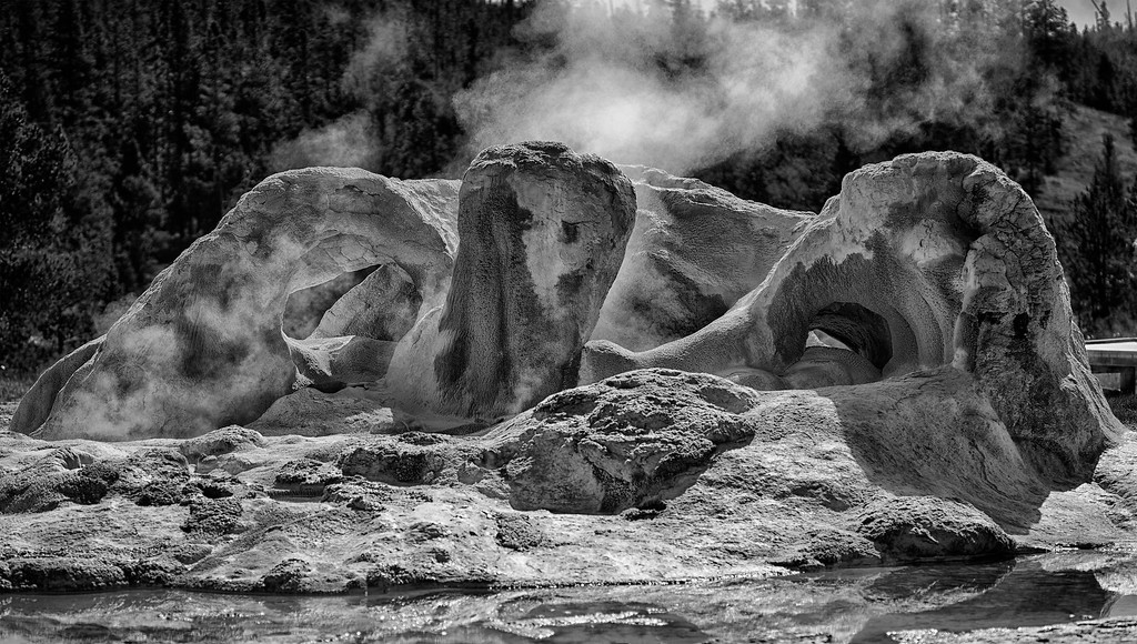 Primal Grotto<br /> Yellowstone National Park<br /> September 2015