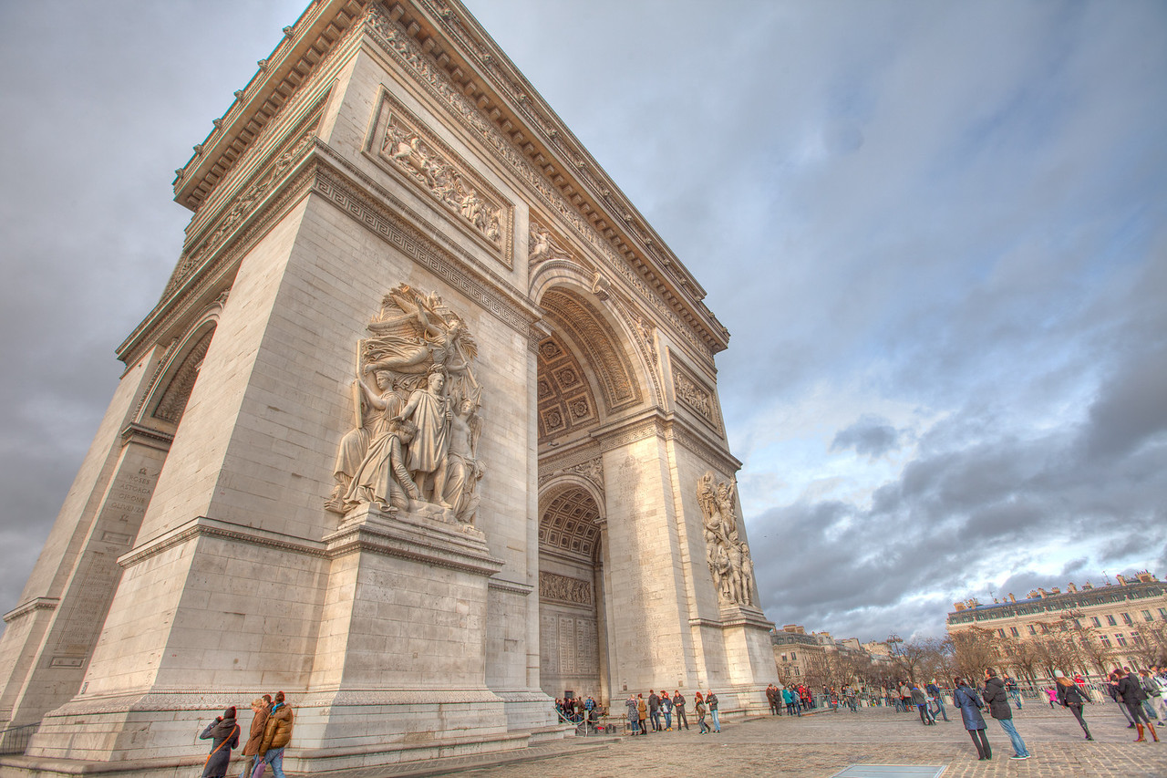 Arc de Triomphe, Paris.
