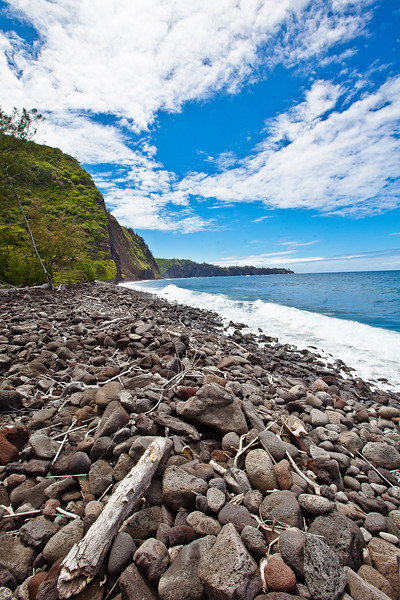 Rocky Beach, Big Island of Hawaii.