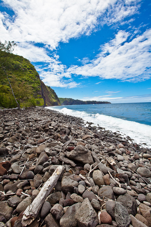 Rocky Beach, Big Island of Hawaii.