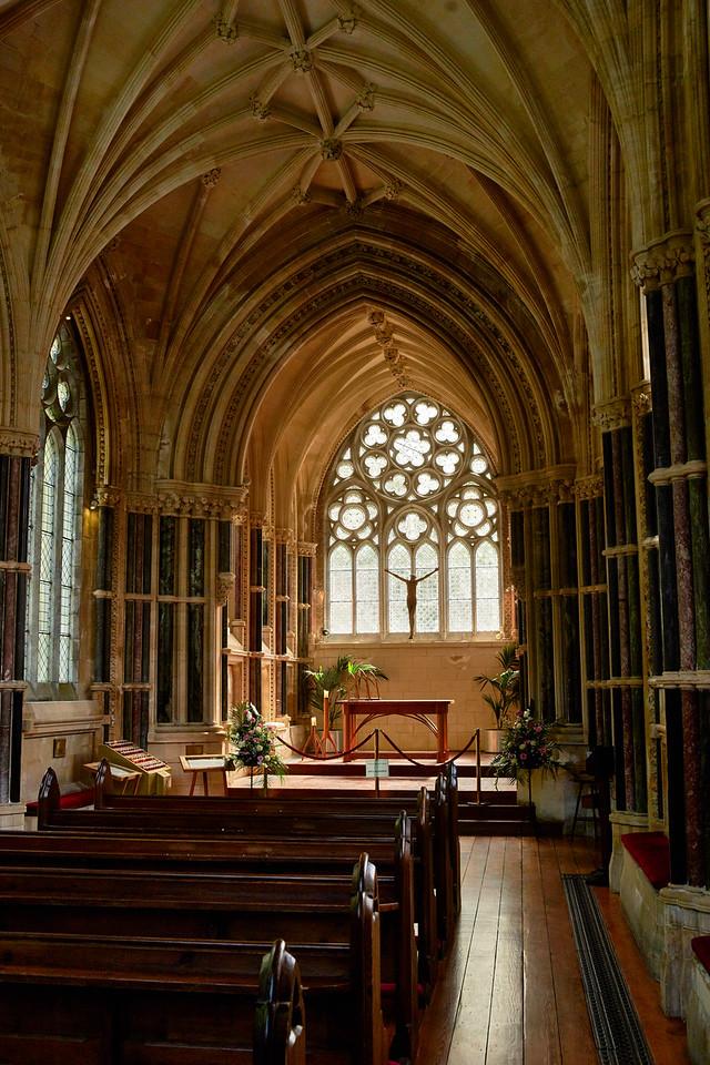 Gothic Chapel, Kylemore Abbey<br /> Ireland<br /> 2016