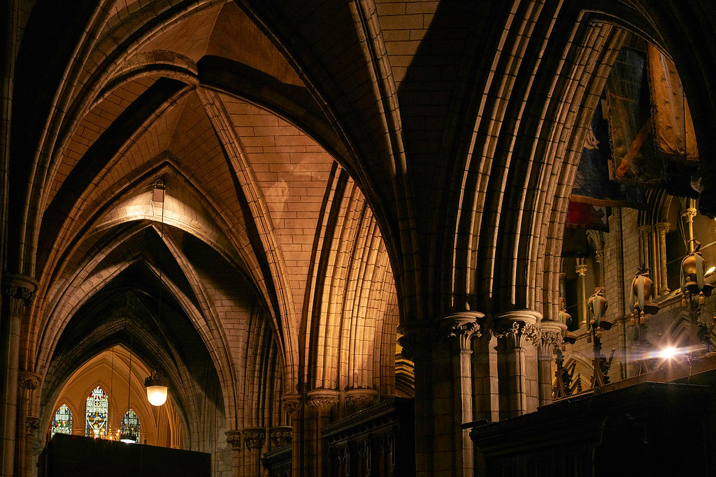 Arched ceilings, St. Patrick's Cathedral, Dublin, Ireland