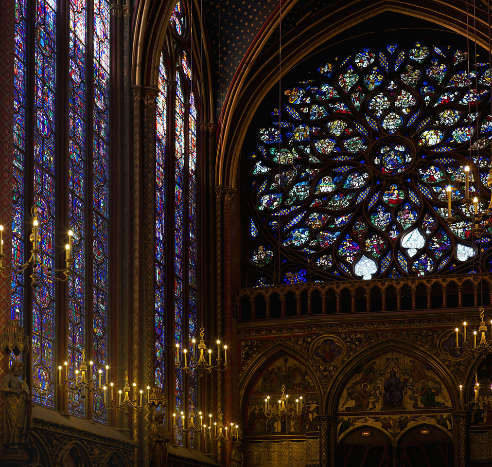 Saint Chappelle<br /> Paris <br /> 2013