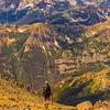 Descending Mt Maude, Central Cascades, Washington