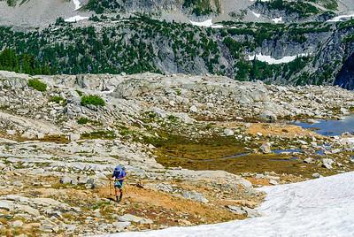 Hiking the Alpine Lakes High Route, Central Cascades, Washington