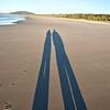 Walking side-by-side