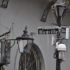 Bienville and Bourbon, New Orleans, LA