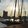 Boat in the Inner Harbor, Baltimore MD