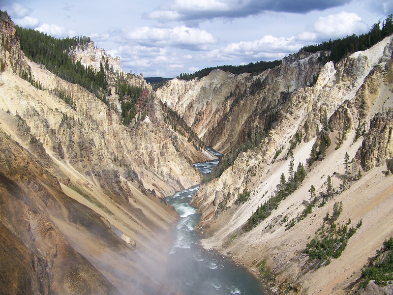 Canyon in Yellowstone National Park