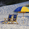 Prepare to relax - beach chairs, Seagrove Beach, Florida.