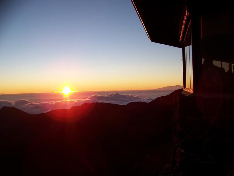 Sunrise at Mt. Haleakala Maui