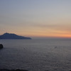 Sorrento Italy, Sunset and the Island of Capri