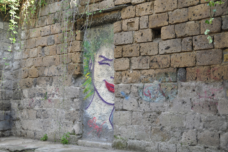 Interesting Graphiti in Sorrento, Italy