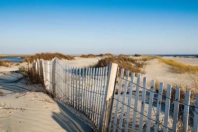 Beach fence, Kiawah Island, SC