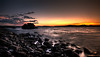 September 2010 - Mooselook sunset in HDR