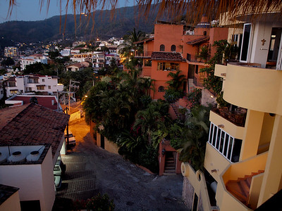 View from Casa Isabel, Puerto Vallarta