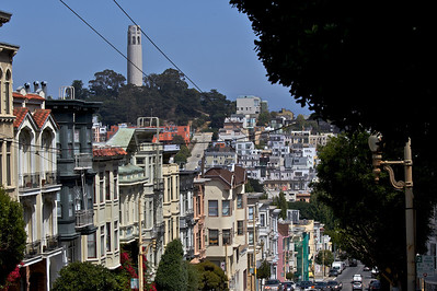 San Francisco's Coit Tower and Telegraph Hill