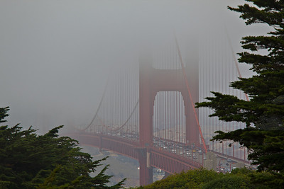 A Foggy Golden Gate