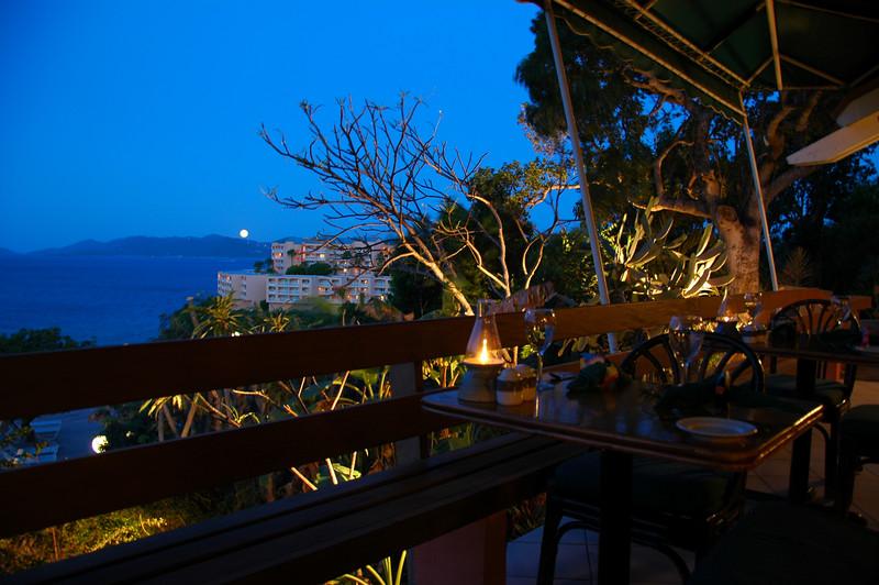 Restaurant on a cliff <br /> St. Thomas, USVI
