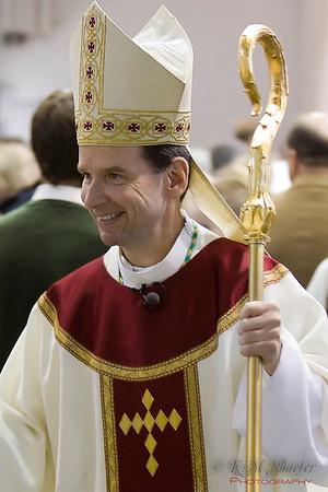 Bishop Burbidge at the 100th Anniversary Mass at CGHS 2009