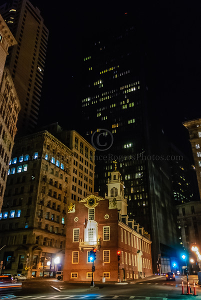 Old State House at Night