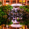 Night Shot of the Chapel Waterfall @ Grand Wailea