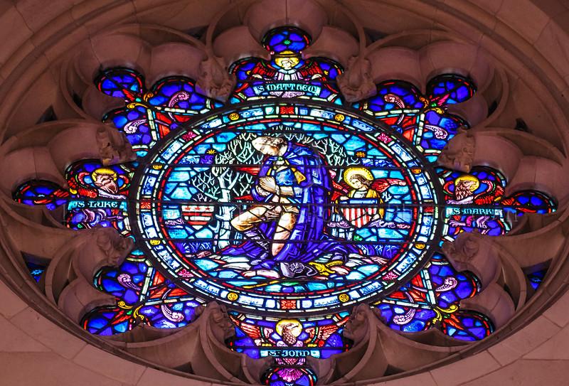 Inside Washington Memorial Chapel, Valley Forge, PA