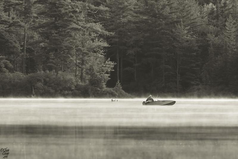 """Morning Mistery""<br /> <br /> Clear Pond - Santa Clara,NY<br /> <br /> <br /> 44.587328,-74.286897"