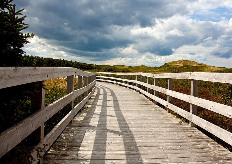 Boardwalk over the Dunes-PEI National Park