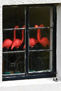 Waiting For Summer In Scotland Storage room window on the Isle of Iona