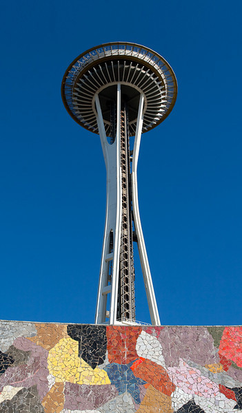 Space Needle and Stage 2008