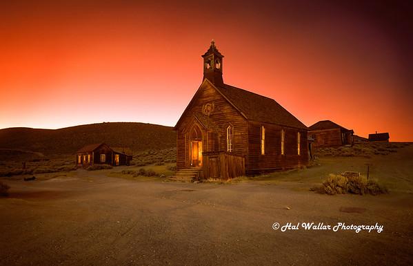 Methodist Church, Bodie Ghost Town