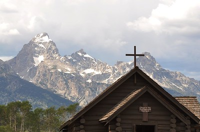 The Chapel in Grand Teton National park - July 2012