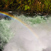 Rainbow in Yellowstone