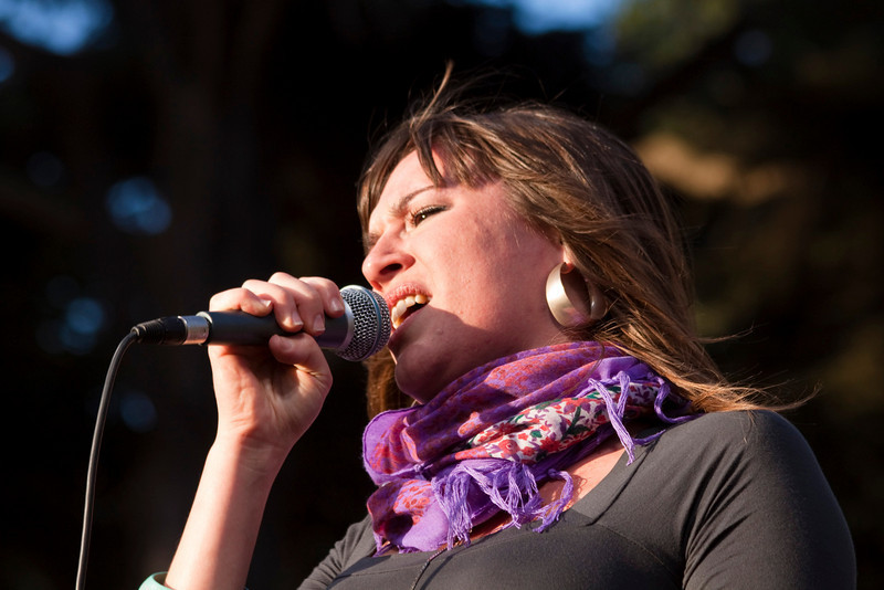 Sarah Dugas (The Duhks).  Hardly Strictly Bluegrass 2009