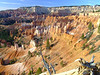 Bryce Canyon National Park - View into the main amphitheater from the rim trail.
