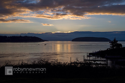 Sunrise in Anacortes, Washington (photo 08/2010)