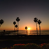 Sunset at San Clemente Pier, San Clemente, CA