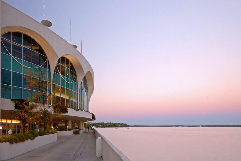 Monona Terrace at Twilight