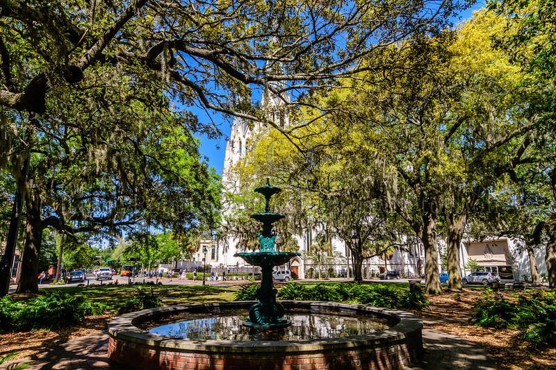 Lafayette Square, Savannah, GA
