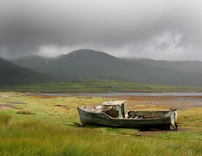 Seen Better Days-Isle of Mull, Scotland