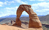 Delicate Arch, Arches National Park - One of the iconic views in the National Parks.