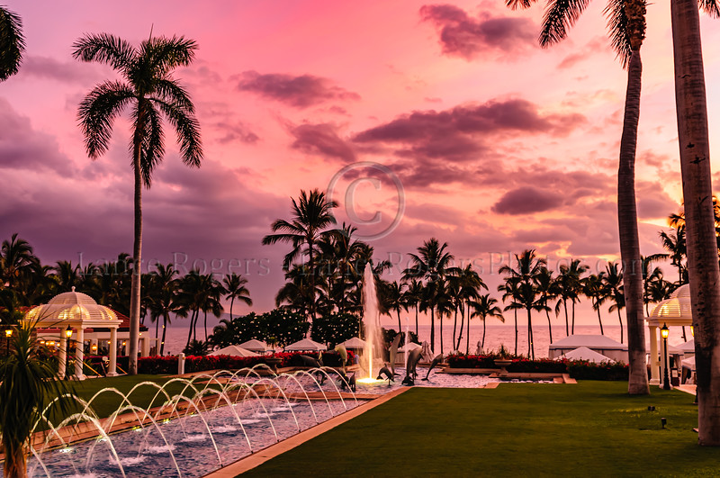 Maui Sunset from Grand Wailea