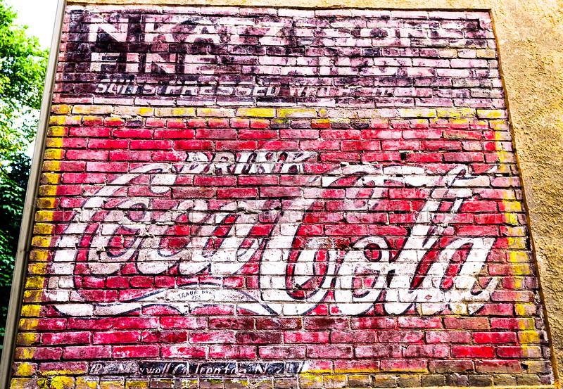 Coca-Cola add, Old New Castle, DE